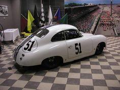 Porsche 356-white