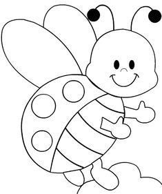 Coloring Sheets For Kids, Cute Coloring Pages, Disney Coloring Pages, Animal Coloring Pages, Coloring Books, Art Drawings For Kids, Outline Drawings, Drawing For Kids, Machine Embroidery Applique