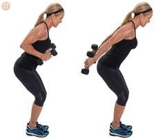 Tricep kickbacks can help tone up those jiggly areas we all want to tighten.