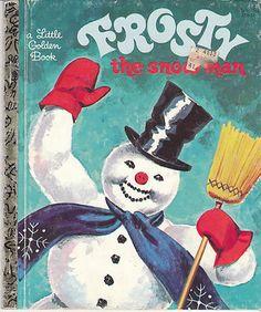Frosty The Snow Man Little Golden Book Corinne Malvern Christmas