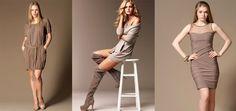 Vizon Rengi Elbiseler İle Modern Bir Görünüme Sahip Olmak #vizon #elbise #modern