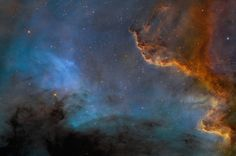 Nebulosa da América do Norte foto