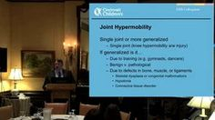 CSF Ehlers-Danlos Syndrome Colloquium Dr. Brad Tinkle discusses the various types of EDS and diagnostic criteria in detail.  #EhlersDanlosSyndrome Awareness #EDS