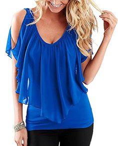 6e946c3f3e5 Lace Girl 2017 Summer Women Casual Tops Sleeveless Off Shoulder Fashion  Women Irregular Chiffon Blouses Shirts Blusas Femininas