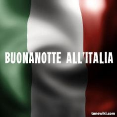 Lyric Art of Buonanotte All'italia by Ligabue