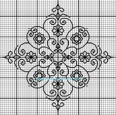 Discover recipes, home ideas, style inspiration and other ideas to try. Motifs Blackwork, Blackwork Cross Stitch, Blackwork Embroidery, Cross Stitch Samplers, Cross Stitching, Cross Stitch Embroidery, Embroidery Patterns, Graph Paper Drawings, Graph Paper Art