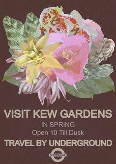 Kew Gardens, London Underground