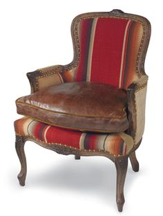 Zavala Serape Chair All Out, Old Fashioned Comfort. An Inviting, Broken