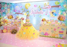 1st Birthday Party For Girls, Girl Birthday Themes, Carnival Birthday Parties, Unicorn Birthday Parties, Birthday Party Decorations, Table Decorations, Butterfly Garden Party, Sunshine Birthday, Head Tables