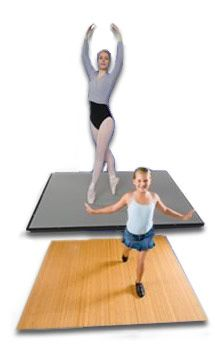 Harlequin Home Dance Studio... I would definitely LOVE to have a dance space- even if it's small, like this.