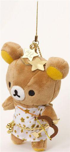 Rilakkuma bear zodiac sign Sagittarius plush charm