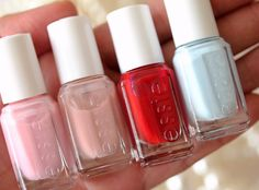 Essie wedding collection 2011...first dance, better together, made to honor, borrowed and blue