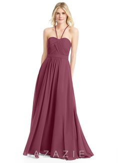 Shop Azazie Bridesmaid Dress - Felicity in Chiffon. Find the perfect made-to-order bridesmaid dresses for your bridal party in your favorite color, style and fabric at Azazie.