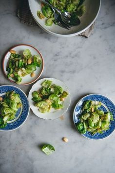 Brussels Sprout Salad With Marcona Almonds
