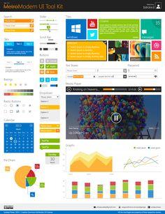 Freebie - Metro UI Tool Kit