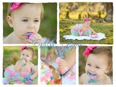 Cake Batter Tutu with Matching Hairbow by SweetiesTutuShop on Etsy, $29.00