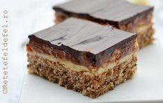 PRAJITURA SNICKERS - Rețete Fel de Fel Tiramisu, Ethnic Recipes, Desserts, Food, Pastries, Tailgate Desserts, Deserts, Essen, Postres
