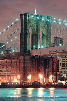 Brooklyn Bridge in New York City -