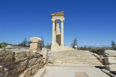 The Temple Of Apollo in Cyprus is a must see! History and beauty all in one.