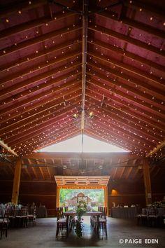 Love the airy barn for the reception location #Newberrybros #Denver #Wedding