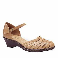 Softspots Tatianna Ankle Strap Huaraches (FootSmart.com)