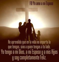 La familia en Cristo siempre con Su Presencia es poderosa!!..nada la derriba!!..