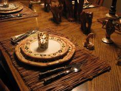 Safari Dining Room Decorations
