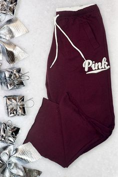 The must-have pant to Netflix and chill this holiday season. #PINKmas @vspink