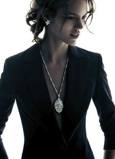 Freja Beha Erichsen for Harry Winston Holiday 2012 Campaign by Patrick Demarchelier