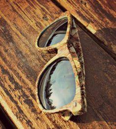 Retro Camo Sunglasses #CountryLife #CountryGirl