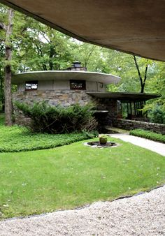 Friedman House - Frank Lloyd Wright - Usonian -  Pleasantville, New York - 1950