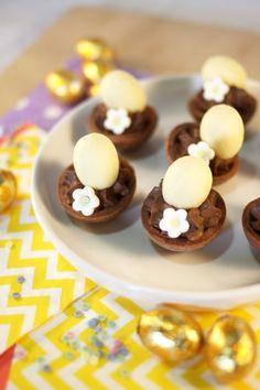 Tartelettes nids de pâques