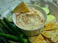 Quick Oil Free White Bean Hummus with 5 Fun Flavor Variations