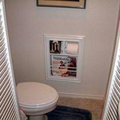 Paper Holders Magazine Racks And Toilet Paper On Pinterest
