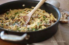 Mushroom Stroganoff | Skinnytaste  Used greek yogurt instead of sour cream and it was super good!