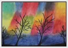 Art for Everyone: Northern Lights -