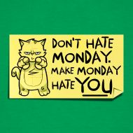 A good way to think of Mondays!