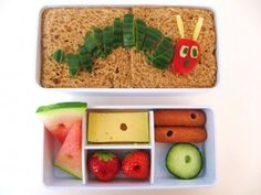 Very Hungry Caterpillar  bento lunch