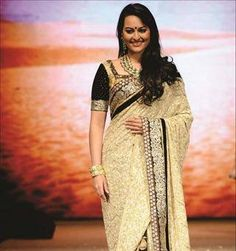 Sonakshi Sinha saree at $99 with FREE shipping offer. Only at www.buyindianwear.com