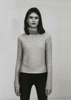 lara mullen in vogue uk april '12 photographed by josh olins