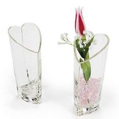 Heart-Shaped Vase - Party Decorations & Room Decor