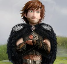 Hiccup The Chief by @Wolf-Terrier on deviantart.com >>>>>>>>> Notice the cloak fastener. Oh my goodness! XD