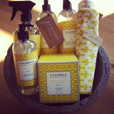 Favorite scent for the home (hand soap/hand lotion, etc.)!  ...Caldrea Sea Salt Neroli