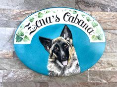Personalized pet sign, unique gift idea for dog lovers!