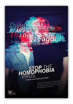 Stop The Homophobia Virus - Awareness Campaign on Behance