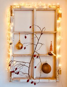 Winter Porch, Xmas, Christmas Christmas, Christmas Ideas, House Doctor, Candle Sconces, Window Treatments, Wall Lights, Shabby Chic