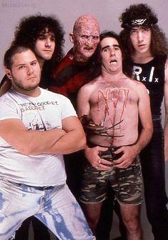 Lullabies for the Damned: The Musical Legacy of Freddy Krueger . Stormtroopers Of Death, Metal Meme, Jazz, Metal Magazine, The Big Four, Metal Artwork, Thrash Metal, Music Photo, Rockers