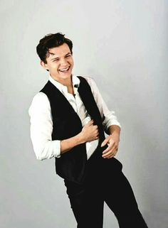 Peter Parker aka Spiderman aka Tom Holland - kind of reminds me of Han Solo