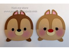 A personal favorite from my Etsy shop https://www.etsy.com/listing/264876937/premade-chip-and-dale-tsum-tsum-paper