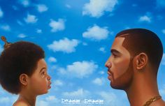 "Drake's ""Nothing Was The Same"" Album Cover                                                   -  Kadir Nelson"